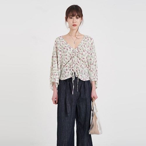 dolman pattern blouse (2colors)