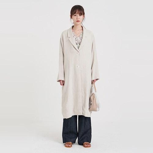 jude linen long jacket