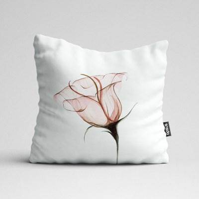 핑크빛투명한꽃 쿠션 by포포(568966)