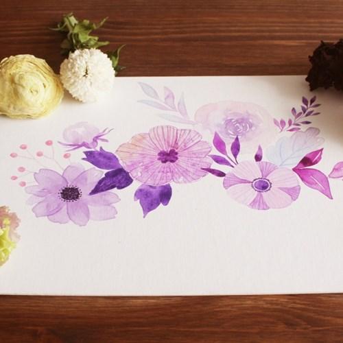 [텐텐클래스] (송파) 붓 끝에서 피어나는 꽃 향기