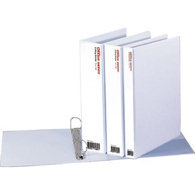 투명D링바인더(3cm/OfficeDEPOT)