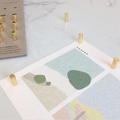 GOLD STICK MAGNETS / 골드 막대 자석