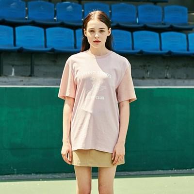 [SM18 Peanuts] Surf Club Pigment T-Shirts(Pink)_(626281)