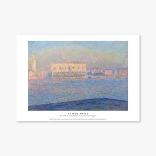 The Doges Palace Seen from San Giorgio - 클로드 모네 050