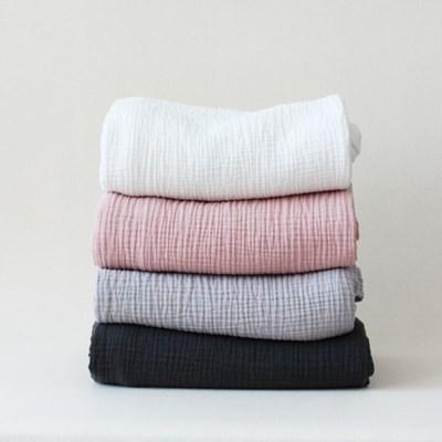 삼중 거즈 여름이불(4colors)
