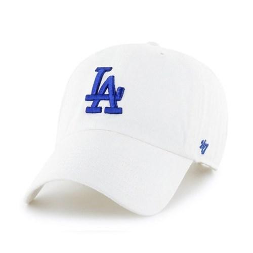 47브랜드 MLB모자 엘에이 다저스 화이트 로얄빅로고