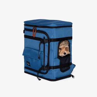 강아지 카시트백팩 Dog Carseat Backpack(Blue)