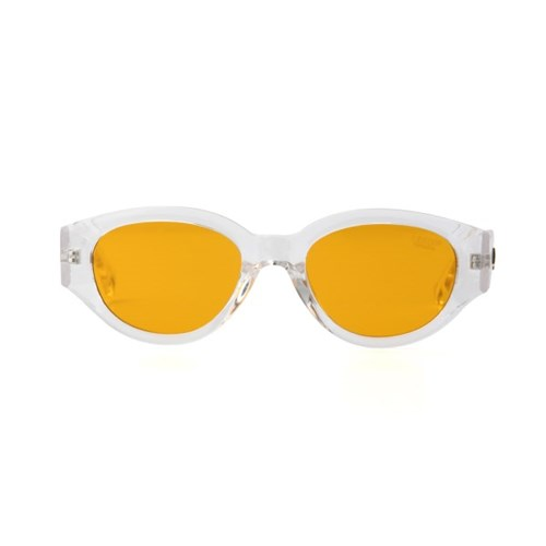 D.fox Original Glossy Clear / Orange Tint Lens