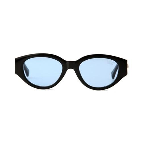 D.fox Original Glossy Black / Blue Tint Lens
