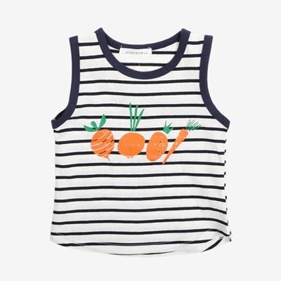 캐럿 스트라이프 민소매 티셔츠 T183_(943272)