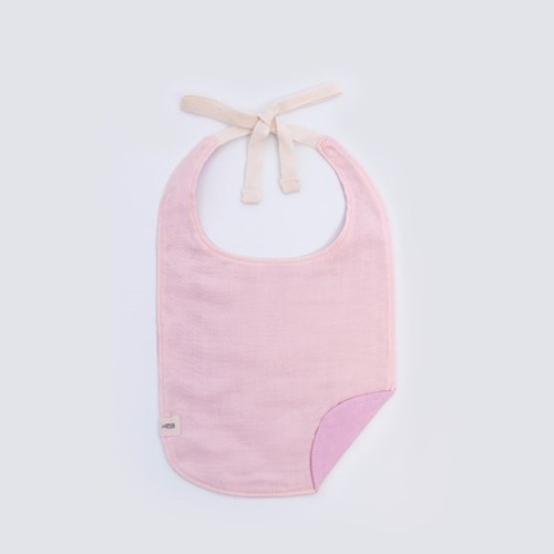[율그란] 무형광 오가닉 거즈 아기턱받이 라일락