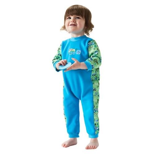 체온보호 아기수영복 웜인원(그린게코)