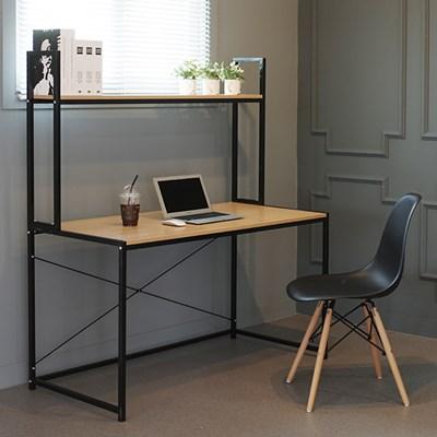 h형 조립식 선반형 컴퓨터 사무용 책상 체어