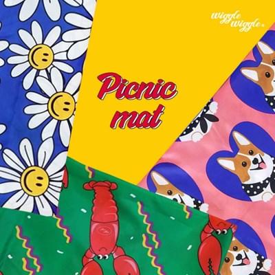[위글위글] Picnic Mat 피크닉매트 (3종)