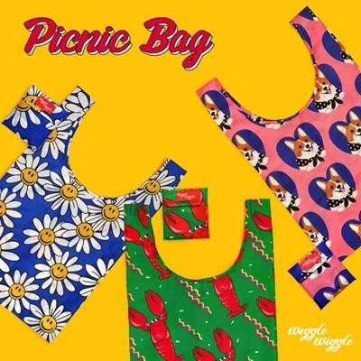[위글위글] Picnic Bag 피크닉백 (3종)