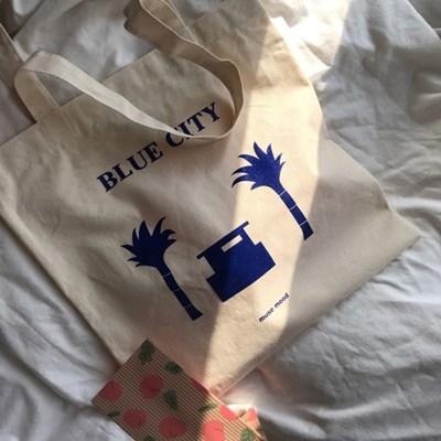 [뮤즈무드] blue city 에코백