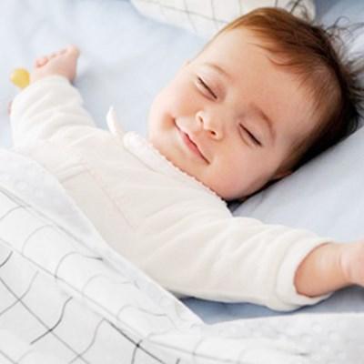 프랑스 보니숑 아기담요 끈이있는 타이블랭킷(라지사이즈)