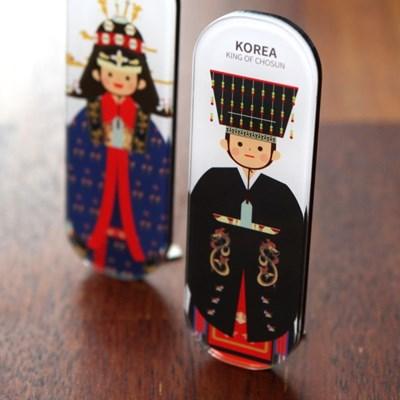 한국전통 커플스틱자석 ver.1