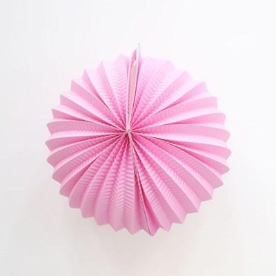 페이퍼 파티볼 24cm (핑크)_(301567400)