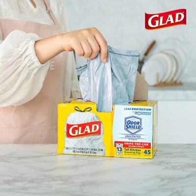 GLAD 분리수거백 45입 쓰레기봉투 빅트래시백 재활용
