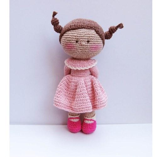 [손뜨개 DIY]손뜨개인형-분홍미미
