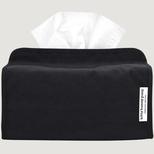 Easy Black Tissuebox Cover