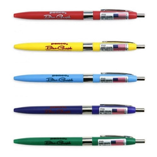 Penco Biro Graph Ballpoint Pen (9 options)