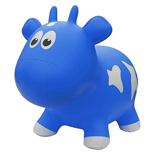 FARM HOPPERS - Cow(젖소) 블루 점핑말 호핑말_(1184628)