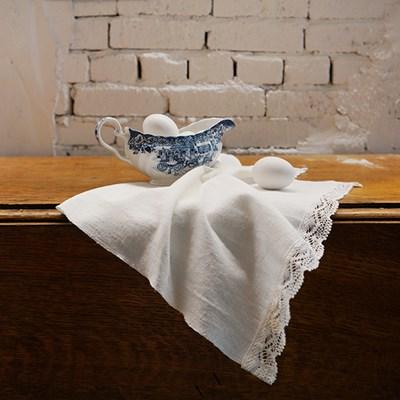 Weave cotton lacemat : 위브 코튼 레이스매트