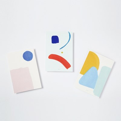 SIMPLE PAINTING POSTCARD SET / 페인팅 엽서 세트