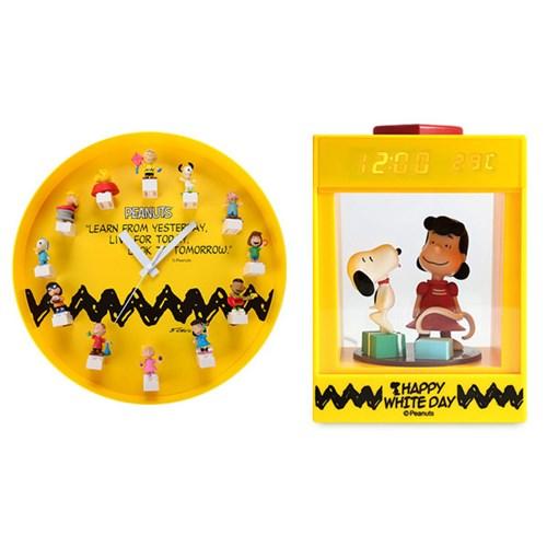 스누피와 친구들 캐릭터 시계(탁상시계/벽시계)