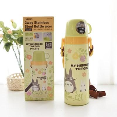 토토로 컵형 스텐 보온병(식물 600ml)