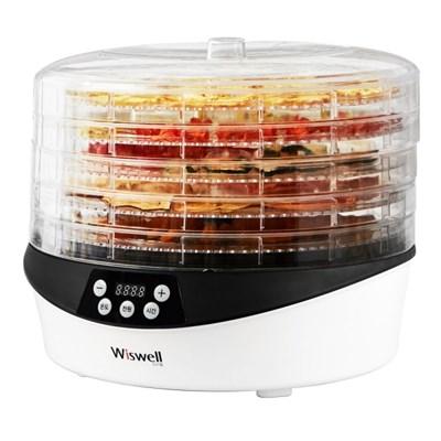 [리퍼] 위즈웰 WH4200 디지털 360회전 식품건조기/야채건조기 5단