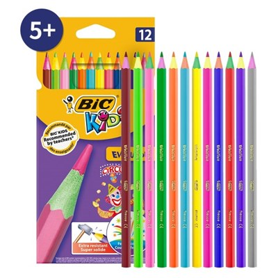 에볼루션 서커스 색연필 12색