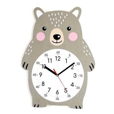 무소음 아이방 시계 동물친구들 - 빅베어