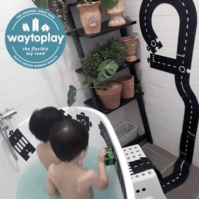 웨이투플레이 도로놀이 16피스 익스프레스웨이 교구 장난감