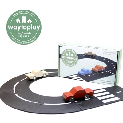 웨이투플레이 도로놀이 24피스 하이웨이 교구 장난감