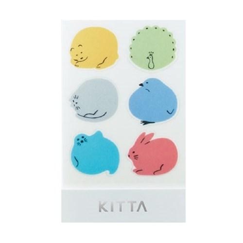 [KITTA seal] 포켓형 데코 스티커_KITD010