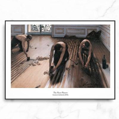 카유보트 인테리어 그림 액자 포스터 마루의 인부들_(1570267)