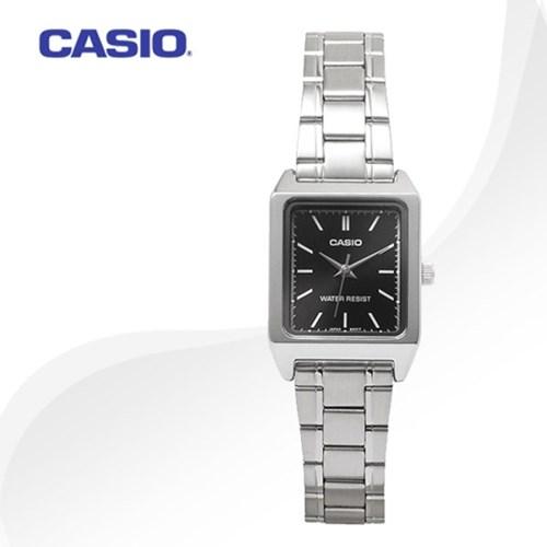 카시오 CASIO LTP-V007D-1E 여성용 메탈밴드 아날로그시계