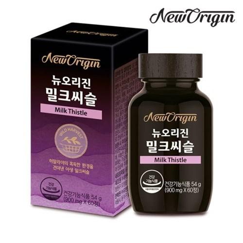 [유한양행] 뉴오리진 밀크씨슬 900mg x 60정_간건강