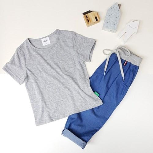IA2EH538U - 하이파이브 포켓 반팔 티셔츠