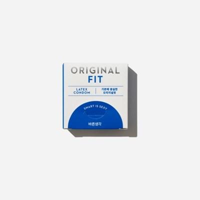 바른생각 콘돔 오리지널핏 3개입