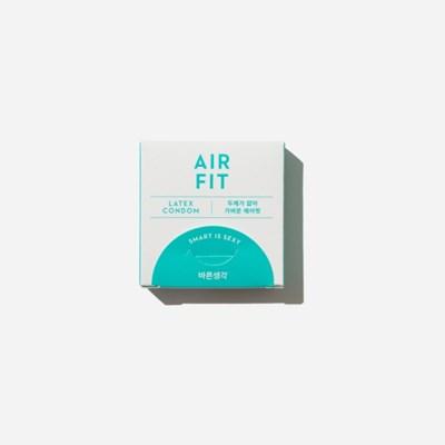 바른생각 콘돔 에어핏(초박형) 3개입