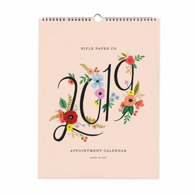 2019 BOUQUET APPOINTMENT CALENDA