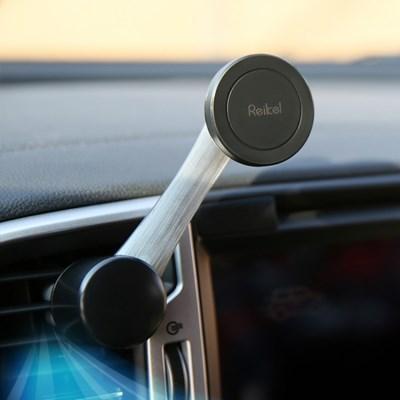라이켈 올라운드그립2 360도 마그네틱 차량용 핸드폰 거치대