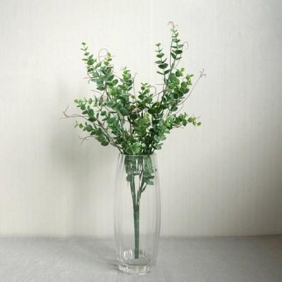 유카리부쉬 그린잎 조화장식(2color)