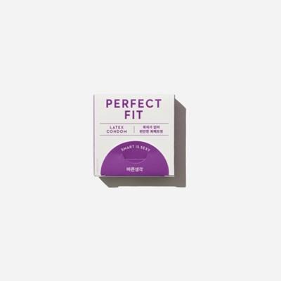 바른생각 콘돔 퍼펙트핏 3개입