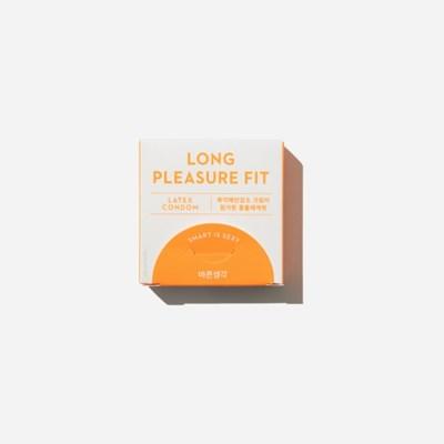 바른생각 콘돔 롱플레져핏 3개입