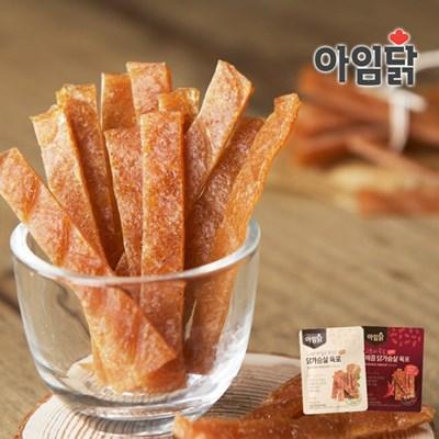 [아임닭] 간식으로 딱! 부드러운 수제 닭가슴살 육포 20g/40g